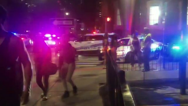Police work to contain large weekend crowds that lead to trouble in Greektown