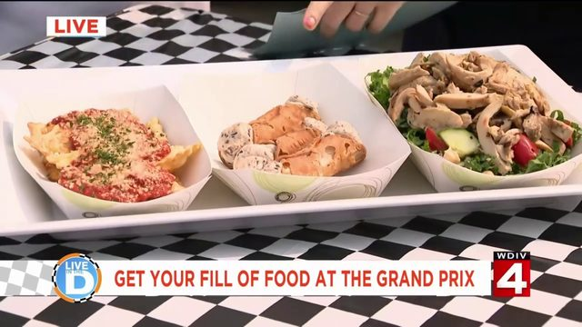 Here's how to get your fill of food at the Chevrolet Detroit Grand Prix!