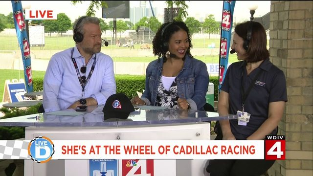 Meet the woman at the wheel of Cadillac Racing