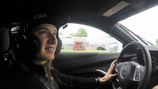Local 4 rides along for hot lap ahead of Detroit Grand Prix