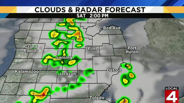 Metro Detroit weather: Near 80 degrees today with weekend rain chances