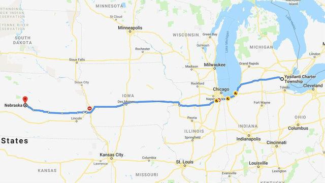 Ypsilanti carjacking suspects taken into custody in Nebraska, car recovered