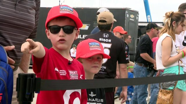 Family fun at the 2019 Detroit Grand Prix