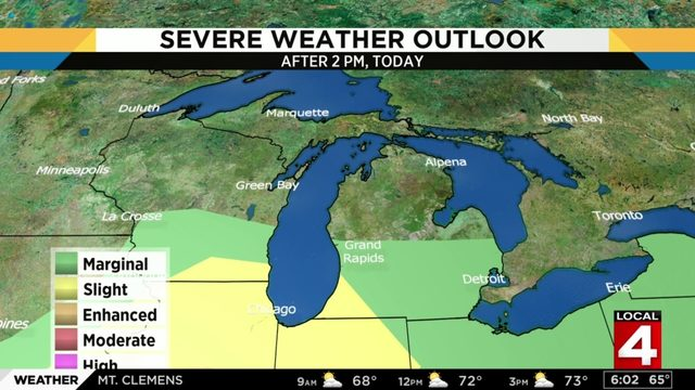 Metro Detroit weather forecast: Stormy Saturday with summer-like conditions