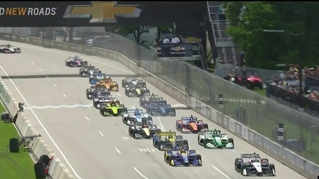 About 1,000 people volunteer at this year's Detroit Grand Prix