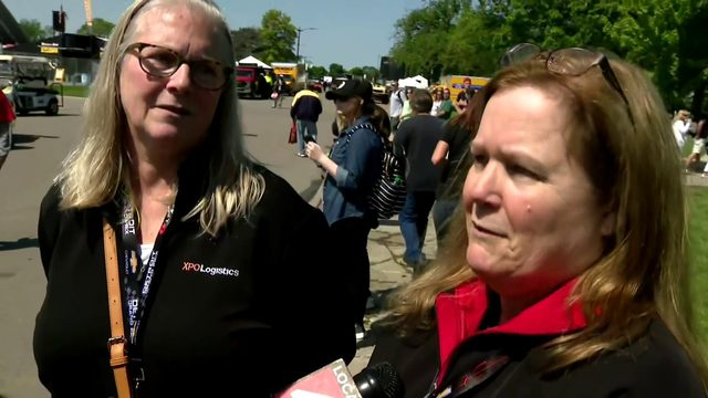 Local women get to drive the track at Detroit Grand Prix
