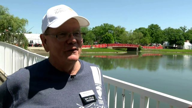 Meet one of the Detroit Grand Prix's most dedicated volunteers