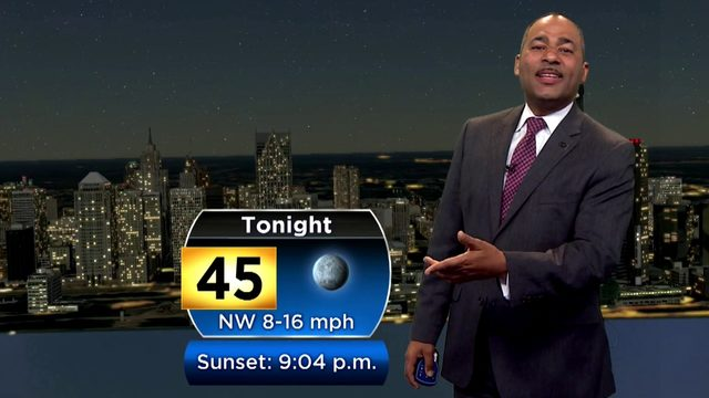 Metro Detroit weather: Temps will dip into 40s tonight