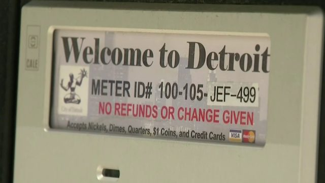 Detroit considers cutting parking fines for residents