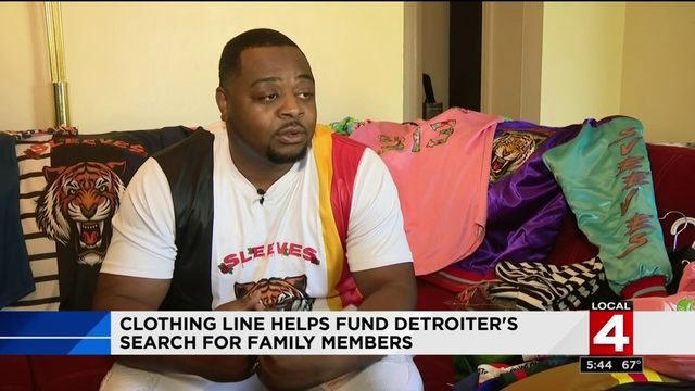 Entrepreneur shares inspiring story behind Detroit Sleeves clothing line