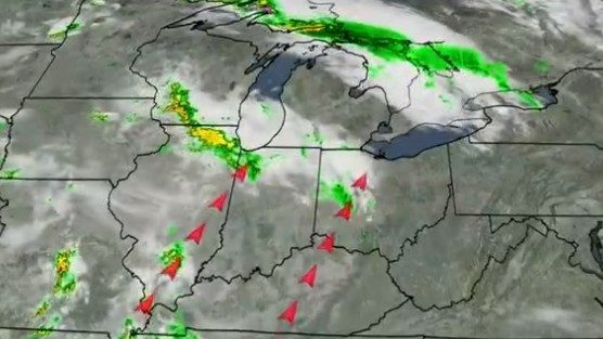 Metro Detroit weather: Isolated thunderstorms possible Wednesday