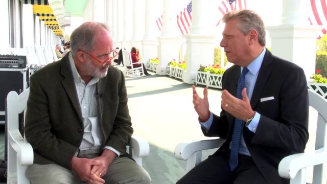 Devin Scillian talks to Eastern Market's Dan Carmody at Mackinac Policy…