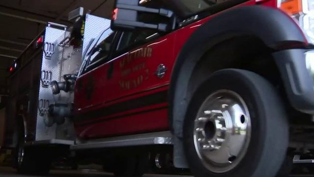 Firefighter walking across Michigan to help fight cancer