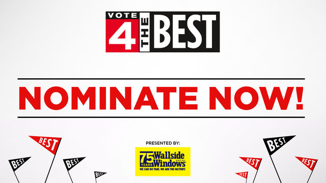 Vote 4 The Best nominations are now open!