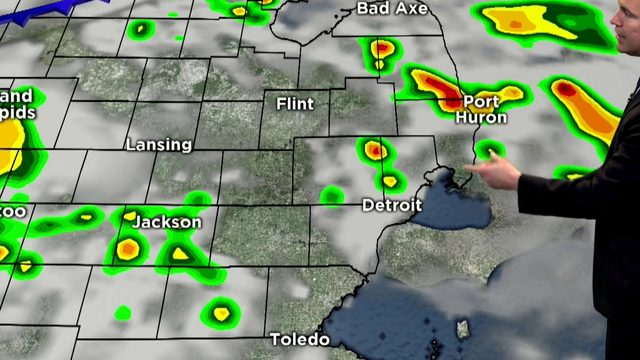 Metro Detroit weather: Strong thunderstorms possible ahead of cold front