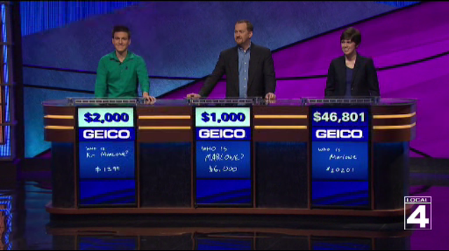 What's behind Jeopardy! James Holzhauer's uncharacteristically small…