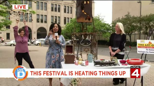Things are heating up at this festival in Royal Oak this weekend!