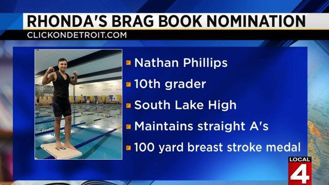 Rhonda's Brag Book: Nathan Phillips