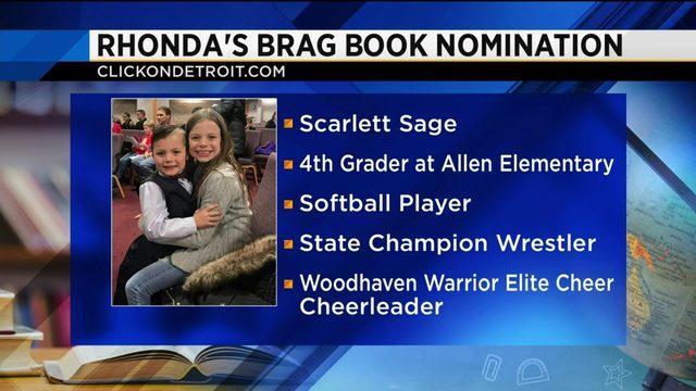 Rhonda's Brag Book: Scarlett Sage