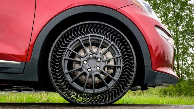 How bad are Michigan roads? GM is testing airless tires