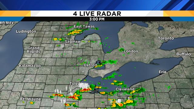 Metro Detroit weather: Severe threat update