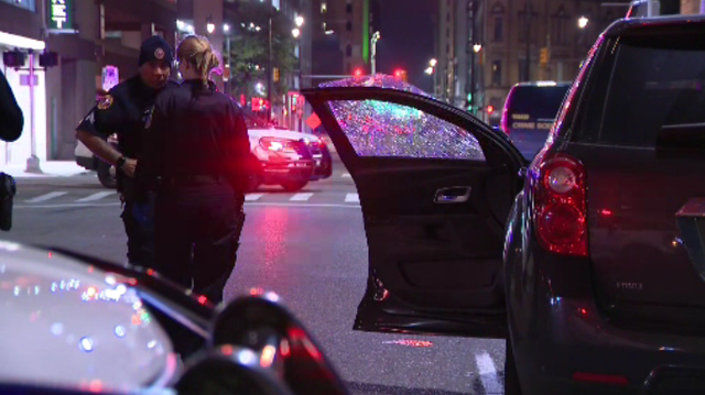 Valet driver injured in hit-and-run crash in Downtown Detroit