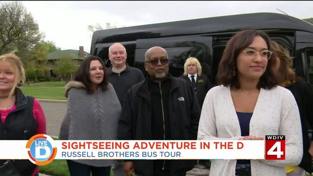 Take a tour of Detroit in style with Russell Brothers City Tour