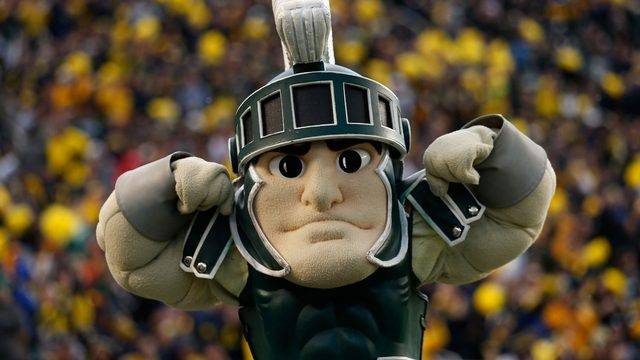 Michigan State says Sparty costume is too hot for parades
