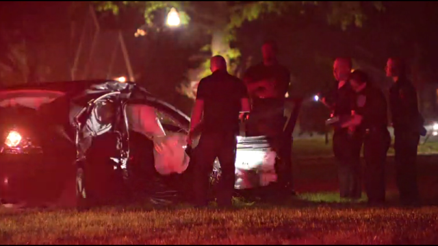 Four children involved in serious crash on Detroit's west side