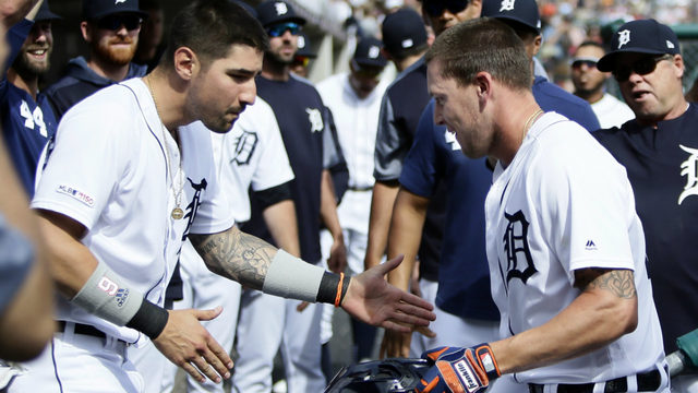 Jones homers twice, drives in 5 as Tigers beat Twins 9-3