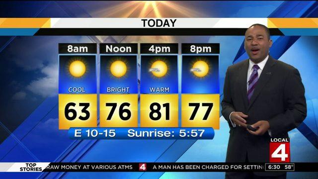 Metro Detroit weather forecast: Warm Saturday with sunshine