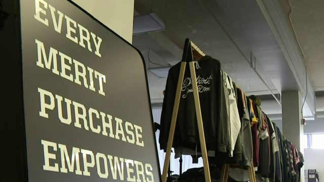 Local clothing brand helps send Detroit teens to college