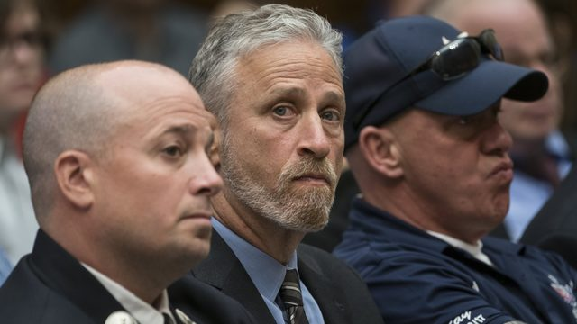 WATCH: Jon Stewart lashes out at Congress over 9/11 victims fund
