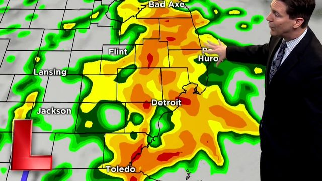 Metro Detroit weather: Less sunshine, more showers on the way