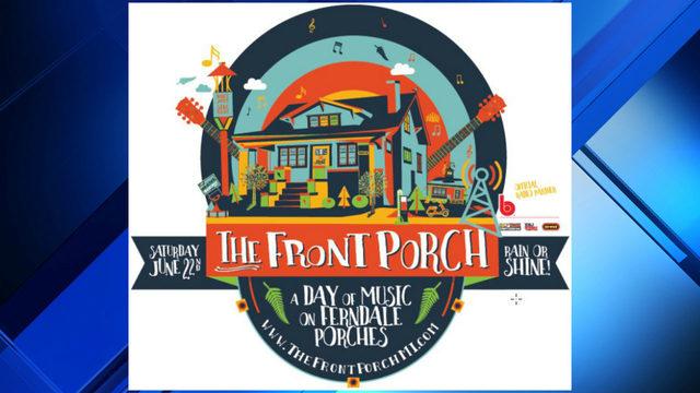 Music festival featuring performances on Ferndale front porches returns…