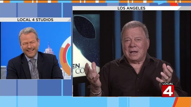 William Shatner talks about his return to television