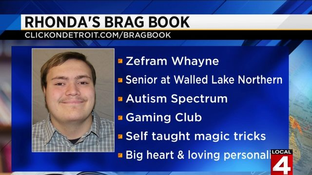 Rhonda's Brag Book: Zefram Whayne