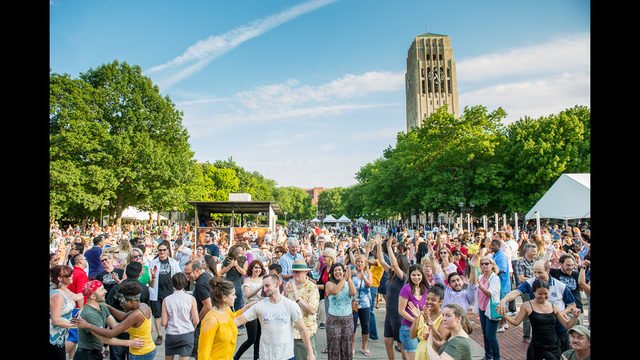 The Ann Arbor Summer Festival starts this weekend