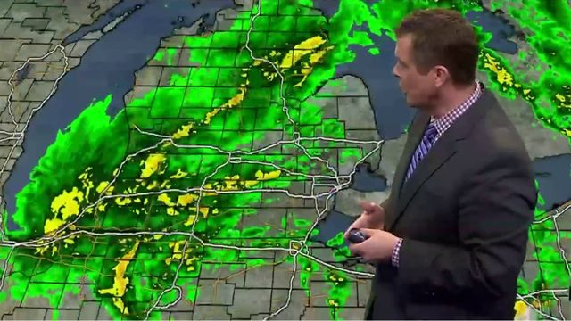 Metro Detroit weather: More soaking showers moving through this afternoon