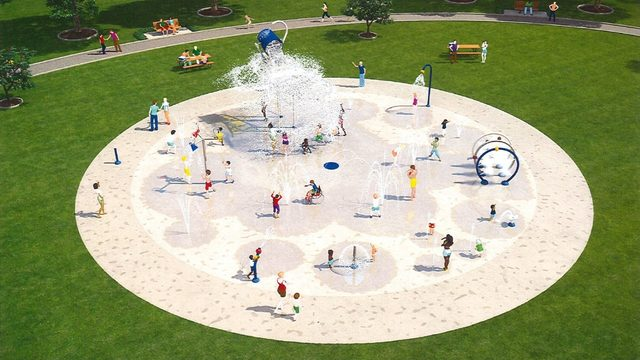 Van Buren Twp. New Splash Pad opening this summer