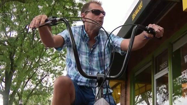 Beloved Roseville handyman has stolen bike replaced