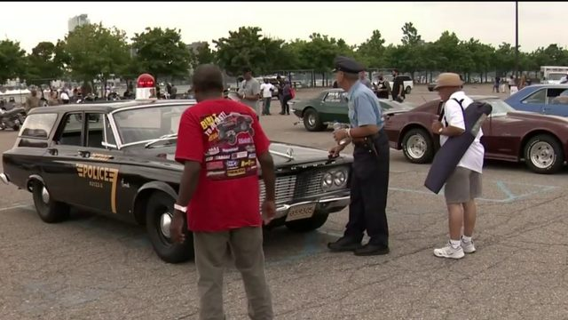 Bring your hot rods and bikes to the Detroit police Showdown in Motown