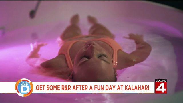 Kalahari Resort has a new way to let all your stress drift way!