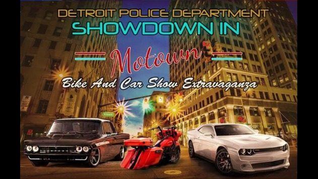 Detroit police hosting car & bike show Saturday