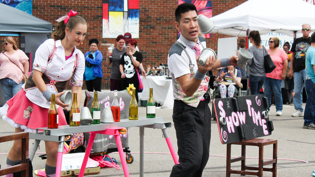 Michigan's only busker festival brings unique street performances to…