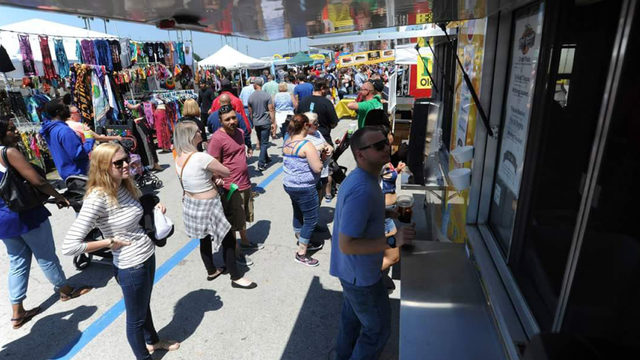 Largest Food Truck Rally highlights Detroit River Days