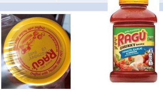 Select RAGÚ pasta sauces recalled due to possible plastic contamination