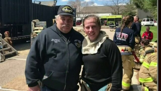 Father-daughter firefighter duo help protect community in Monroe County