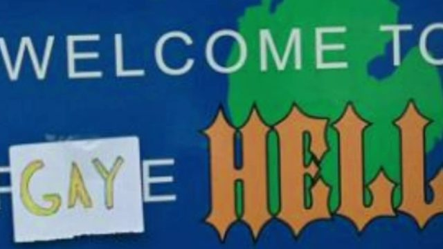 Michigan town renamed 'Gay Hell' as part of political statement