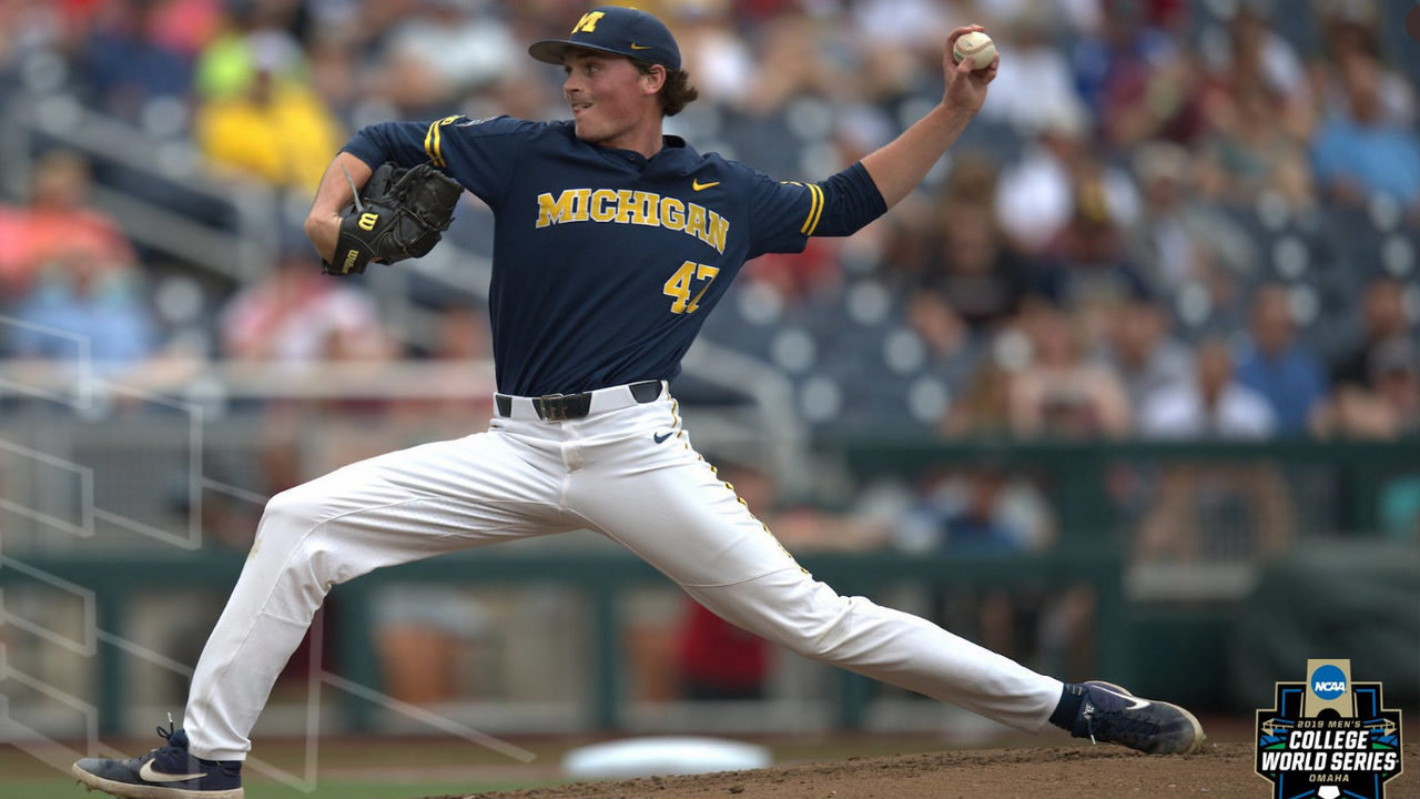 Tommy Henry's gem pulls Michigan baseball within one win of